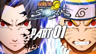 getlinkyoutube.com-Naruto: Ultimate Ninja Storm - Walkthrough Part 1, Gameplay PS3