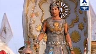 Veer Abhimanyu gets ready to enter Chakravyuh in 'Mahabharat'
