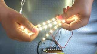 getlinkyoutube.com-Pod napięciem S2E01: Podłączenie długich odcinków taśmy LED