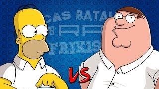 getlinkyoutube.com-Homer Simpson vs Peter Griffin. Épicas Batallas de Rap del Frikismo | Keyblade ft. Zarcort