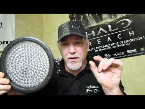 Arkansas Pro Dj's review the Chauvet SlimPar 38 and SlimPar 64 w/Obey 3 controller