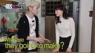 getlinkyoutube.com-Global We Got Married S2 EP04 Making Film (SHINee Key & Arisa) 140430 (샤이니 키 & 야기 아리사)