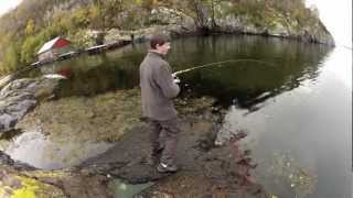 getlinkyoutube.com-Fishing in The Fjords of Norway