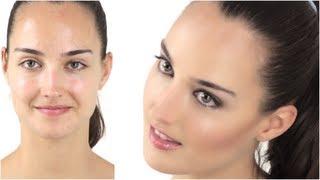 getlinkyoutube.com-Sexy Makeup in 5 Minutes by Celebrity Make-Up Artist Monika Blunder