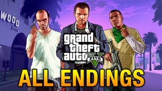 getlinkyoutube.com-GTA 5 - All Endings / Final Missions