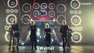 getlinkyoutube.com-B.A.P - Warrior MV [English subs + Romanization + Hangul] HD