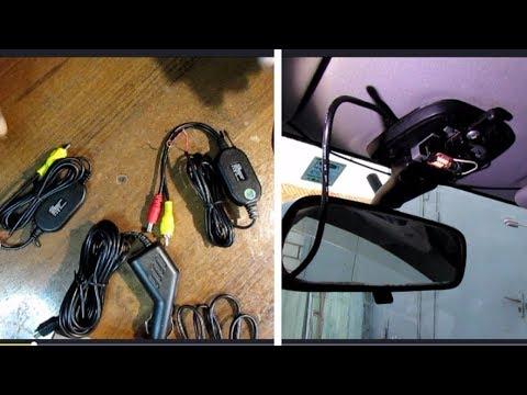 Регистратор к плафону и видеомодули камеры без проводные.