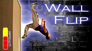 getlinkyoutube.com-How To WALL FLIP - Free Running Tutorial