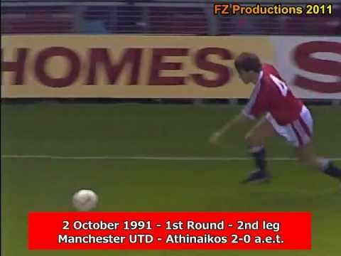 1991-92 Cup Winners' Cup: Manchester United Goals