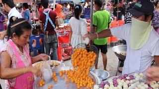 getlinkyoutube.com-Thai Dessert: Cooking Thai Street Food Desserts and Sweets. Street Food Vendors in Thailand Vlog