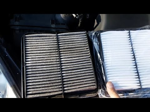 How to replace air filter in Subaru Tribeca