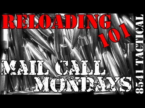 Mail Call Mondays #20 - Precision Rifle Reloading Bullet and Powder Selection