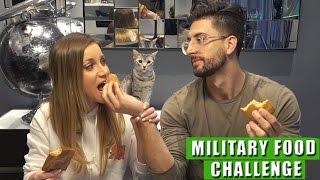 getlinkyoutube.com-MILITARY FOOD CHALLENGE