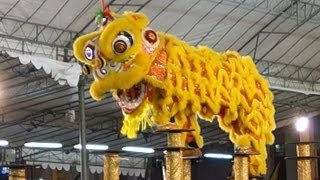 getlinkyoutube.com-泰國奧吧西龍獅體育會 2013 International Lion Dance Competition 2013