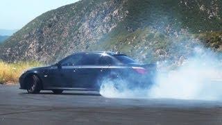 getlinkyoutube.com-BMW E60 M5 with Eisenmann Race Exhaust - In Action