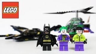 getlinkyoutube.com-LEGO Batman Batwing Battle Over Gotham City Review, Unboxing, Time Lapse Build Super Heroes 6863