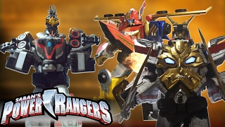 getlinkyoutube.com-Power Rangers | Power Rangers Megaforce Zord Battles