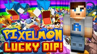 "getlinkyoutube.com-Minecraft PIXELMON - Lucky Dip #1 w/ Ali-A! - ""POKEMON LUCK!"""