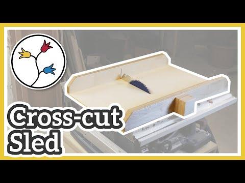 Crosscut Sled for GTS 10 XC Youtube Thumbnail