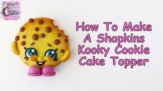 getlinkyoutube.com-How To Make A Shopkins Kooky Cookie Cake Topper