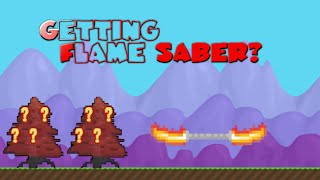 Growtopia | Breaking 6 Saber Trees
