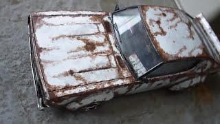 スカイライン ケンメリ 旧車 街道レーサー プラモデル ボロボロ 錆びてる風塗装