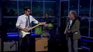 getlinkyoutube.com-The Late Late Show   Bob Weir and John Mayer Perform Althea