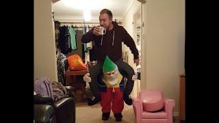 getlinkyoutube.com-Dad Walks Around House in Gnome Costume