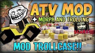 getlinkyoutube.com-Minecraft Mods / Mod Trollcase - SCARE AND GOING TO THE MOON (ATV MOD)