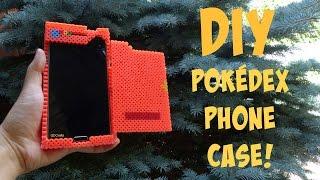 getlinkyoutube.com-DIY Pokédex Phone Case (Made Entirely Out of Perler Beads!)