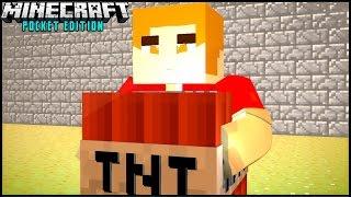 getlinkyoutube.com-Servidor de TNT RUN & BEDWARS Para Minecraft PE 0.13.1 - Server com Minigames !