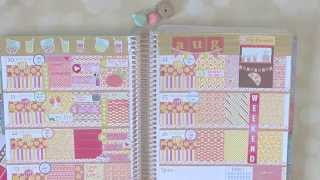 getlinkyoutube.com-Plan With Me | Erin Condren | Horizontal | Pink Lemonade