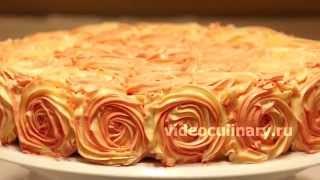 getlinkyoutube.com-Простой способ украшения тортов - Рецепт Бабушки Эммы