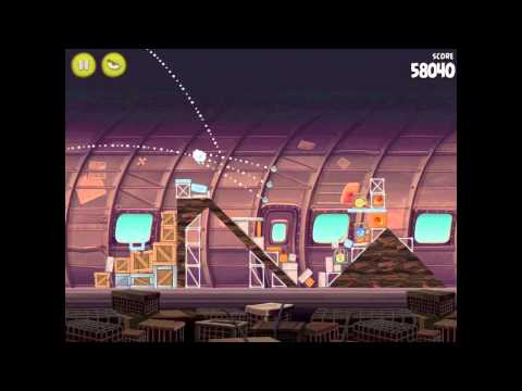 Angry Birds Rio 12-14 Smugglers Plane Walkthrough 3 Star