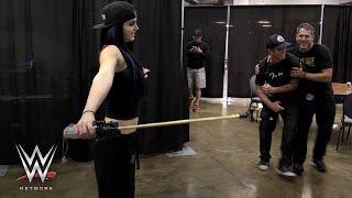 getlinkyoutube.com-Paige literally shocks WWE Superstars on Swerved: WWE Network