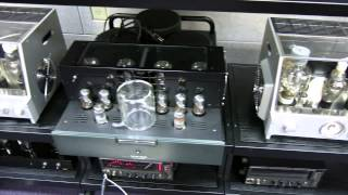 getlinkyoutube.com-Western Electric 16A horn 555 field coil replicas WE 212 amps and tube tester