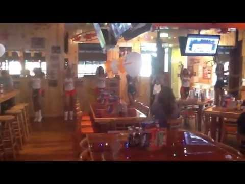 Hooters of Campbelltown going Gangname Style