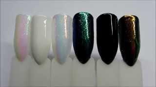 getlinkyoutube.com-Indigo - Mermaid,  Emerald, Holo Effect - Efekt syrenki, szmaragdowy, holo