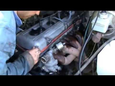 Замена прокладки головки 406 двигателя. Видео