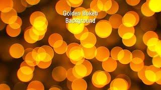 getlinkyoutube.com-Golden Bokeh Background Stock Motion Graphics