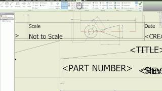 getlinkyoutube.com-Creating Your Own Drawing Template in Autodesk Inventor Tutorial