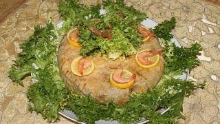 getlinkyoutube.com-Pastilla aux fruits de mer --- (بسطيلة بفواكه البحر (الحوت