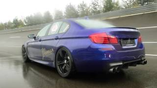 getlinkyoutube.com-4x Tuned BMW M5 F10 -  Loud Revs!
