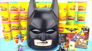 The Lego Batman Movie Huge Surprise Egg with Lego Batman Joker Toys
