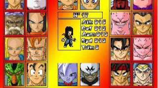 Dragon Ball : Ultimate ShowDown - Characters Selection - Free PC Game - RPG MAKER 2003
