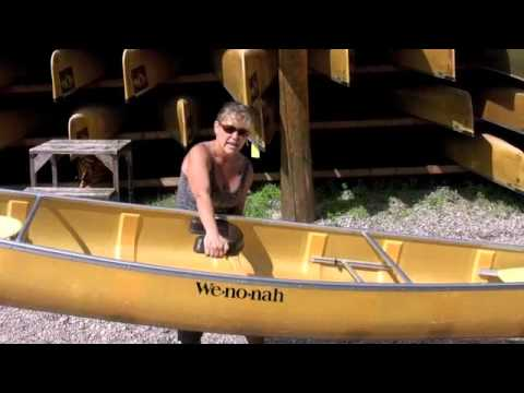 Lifting a Boundary Waters Canoe for Women.m4v