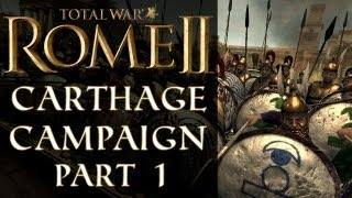 getlinkyoutube.com-Let's Play: Total War: Rome II - Carthage Campaign - Part 1