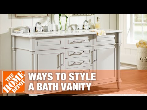 A video on bathroom vanity ideas