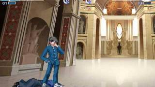 getlinkyoutube.com-Melty Blood Act Cadenza Ver. B Arcade Mode Shiki Tohno