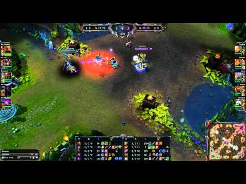 League of Legends - DiG vs Crs g1 - NESL Premiere League Playoffs